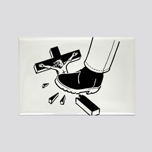 Crush Christianity Rectangle Magnet