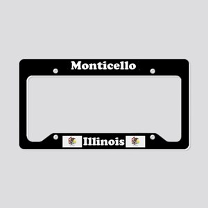 Monticello, IL License Plate Holder