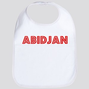 Retro Abidjan (Red) Bib
