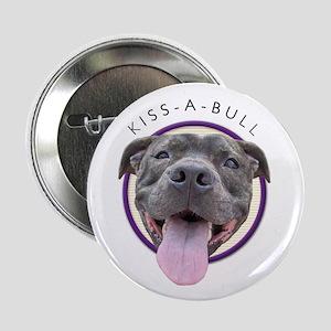 Kiss-A-Bull Button