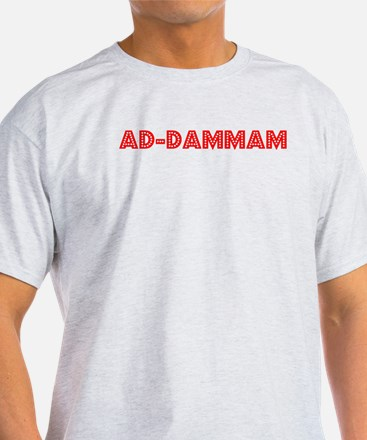 Retro Ad-Dammam (Red) T-Shirt