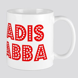 Retro Adis Abba (Red) Mug