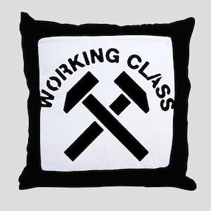 Working Class Throw Pillow