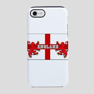 England Lion Flag iPhone 8/7 Tough Case