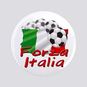 "Italian Soccer 3.5"" Button"