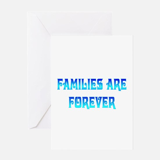 Families Greeting Card