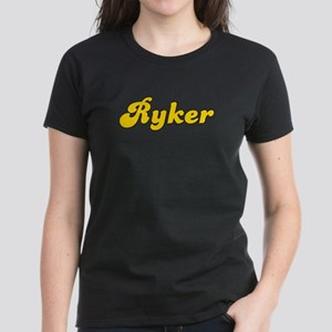 Retro Ryker (Gold) Women's Dark T-Shirt