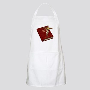 Holy Bible BBQ Apron