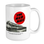 A fast freight train Large Mug