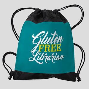 Gluten Free Librarian Drawstring Bag