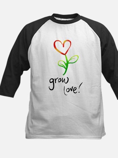 Grow Love Kids Baseball Jersey
