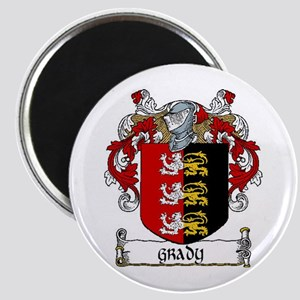 """Grady Coat of Arms 2.25"""" Magnets (10 pack)"""