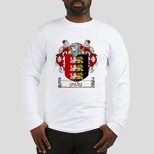 Grady Coat of Arms Long Sleeve T-Shirt