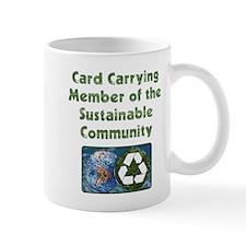 Sustain Card Mug