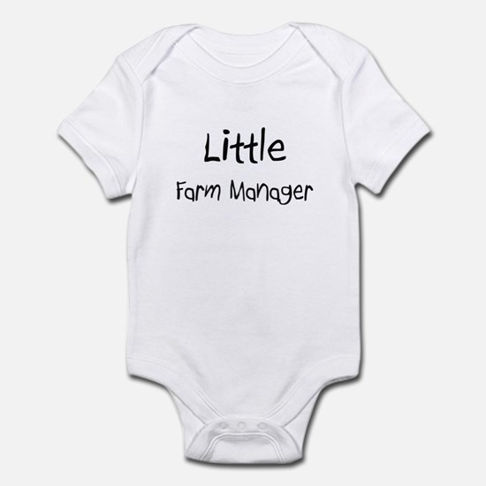 Little Farm Manager Infant Bodysuit