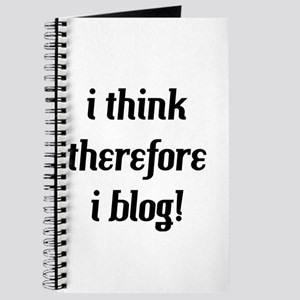 i think therefore i blog Journal