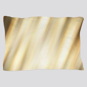 abstract pattern champagne gold Pillow Case