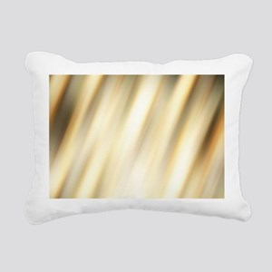 abstract pattern champag Rectangular Canvas Pillow