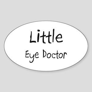 Little Eye Doctor Oval Sticker
