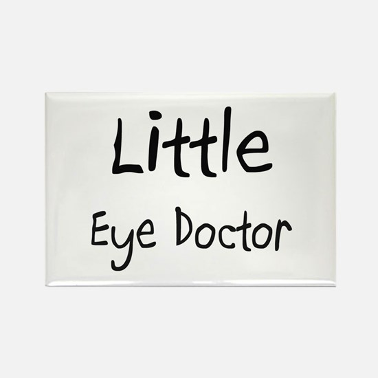 Little Eye Doctor Rectangle Magnet