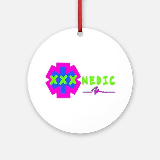 Paramedic Gear Ornament (Round)