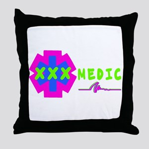 Paramedic Gear Throw Pillow