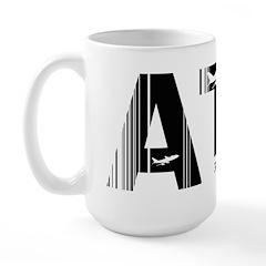 Athens ATH Greece Air Wear Large Mug