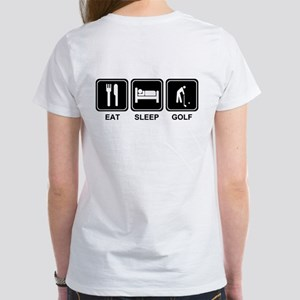 EAT SLEEP GOLF Women's T-Shirt