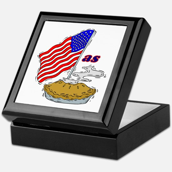 American as Apple Pie Keepsake Box