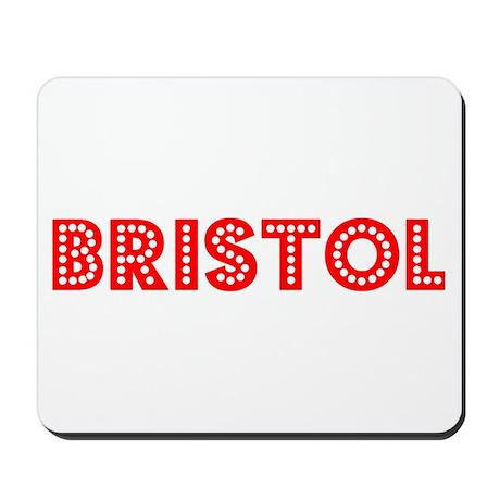 Retro Bristol (Red) Mousepad