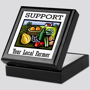 Support Your Local Farmer Keepsake Box