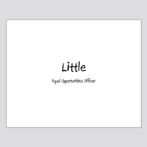 Little Equal Opportunities Officer Small Poster