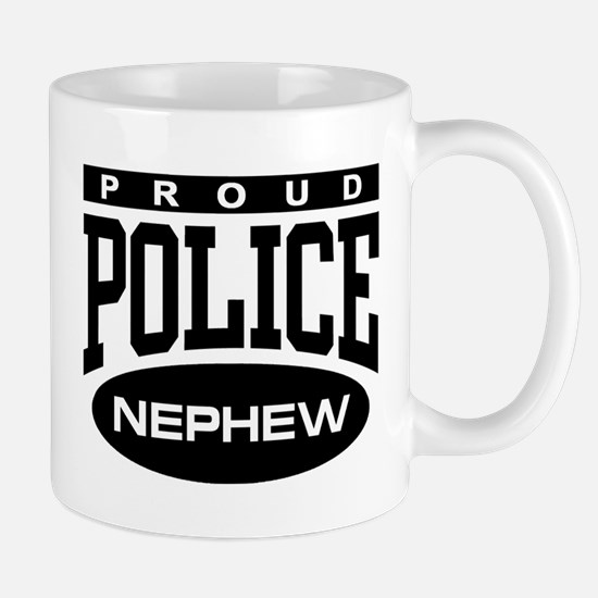 Proud Police Nephew Mug