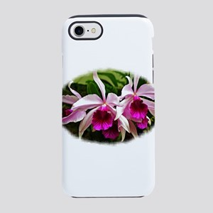 Cluster of Pink Cattleya Or iPhone 8/7 Tough Case