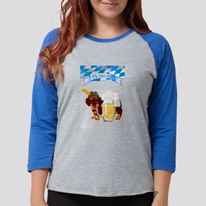 Baseball. Oktoberfest Daschund with Bann Long Sleeve T-Shirt 840790fcdb