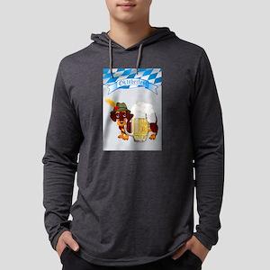 Oktoberfest Daschund with Bann Long Sleeve T-Shirt