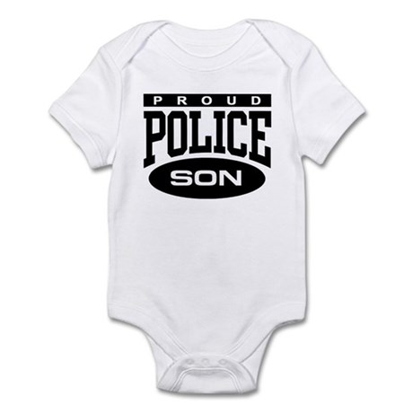 Proud Police Son Infant Bodysuit