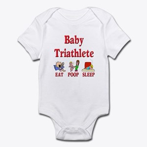 Baby Triathlete 2 Infant Bodysuit