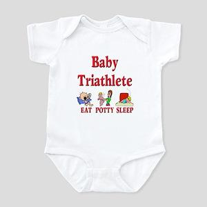 Baby Triathlete Infant Bodysuit