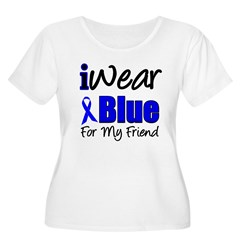 I Wear Blue For My Friends T-Shirt