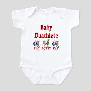 Baby Duathlete Infant Bodysuit