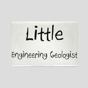 Little Engineering Geologist Rectangle Magnet