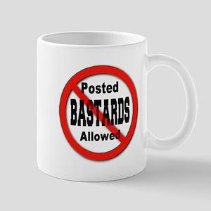 No Bastards Mug