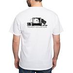 Toast-O-Lator White T-Shirt
