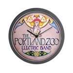 Portland Zoo Electric Band Wall Clock
