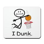 Basketball Stick Figure Mousepad