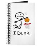 Basketball Stick Figure Journal