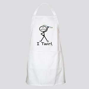 Baton Twirler Stick Figure Light Apron