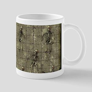 Brassy Skeletons 11 oz Ceramic Mug