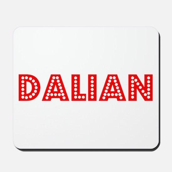 Retro Dalian (Red) Mousepad